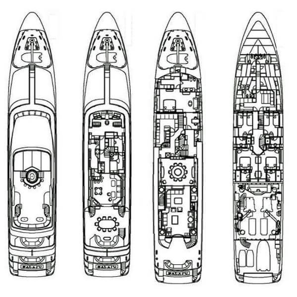 Intermarine Custom Tri-Deck